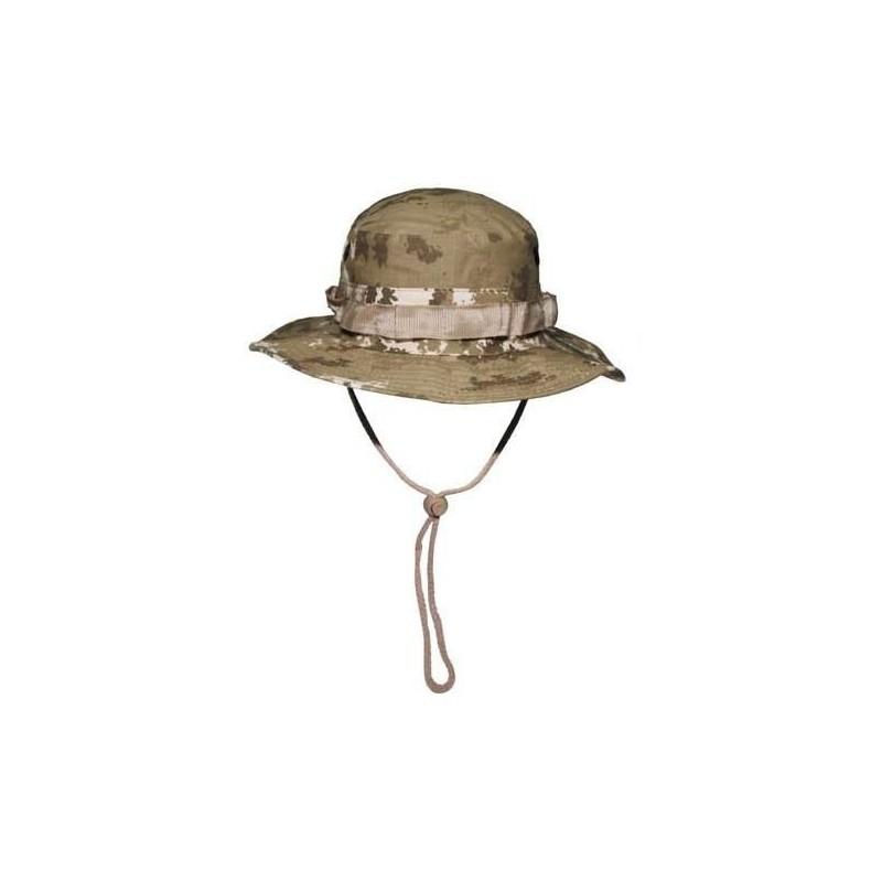 US GI Bush Hat, Rip Stop, chin strap, vegetato desert