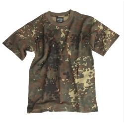 Дети футболка - Flecktarn