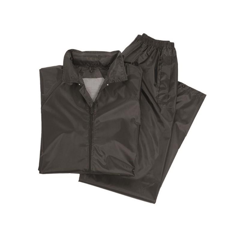 Rain Jacket and pants set, black