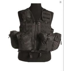 Taktikaline vest modular system (8 taskut), must