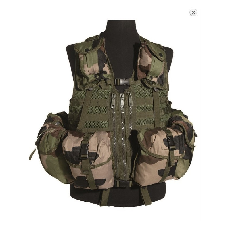 Taktikaline vest modular system (8 taskut), CCE camo