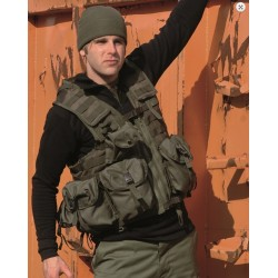 Taktikaline vest modular system (8 taskut), oliivroheline
