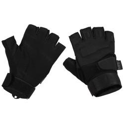 """Тактические перчатки, """"Protect"""", без пальцев, черный"""