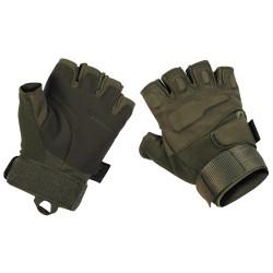 """Тактические перчатки, """"Protect"""", без пальцев, О.Д. зеленый"""