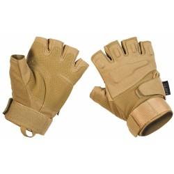"""Тактические перчатки, """"Protect"""", без пальцев, coyote tan"""
