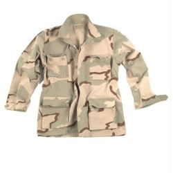 США Field куртка БДУ, Ripstop, Desert Camo