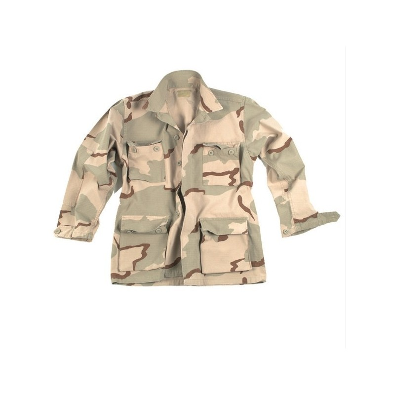 US Field Jacket BDU, Rip Stop, Desert camo