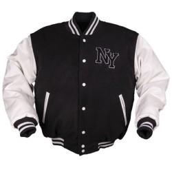 NY бейсбол куртка с значком