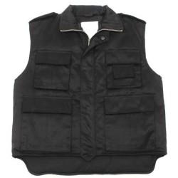 """US Vest """"Ranger"""", Black"""