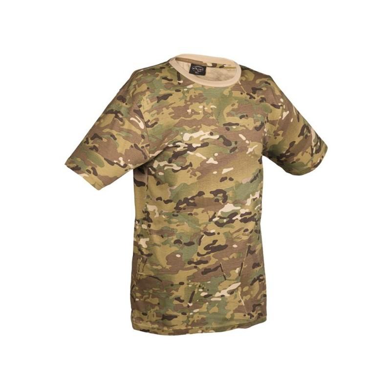 Camo t-shirt, multitarn
