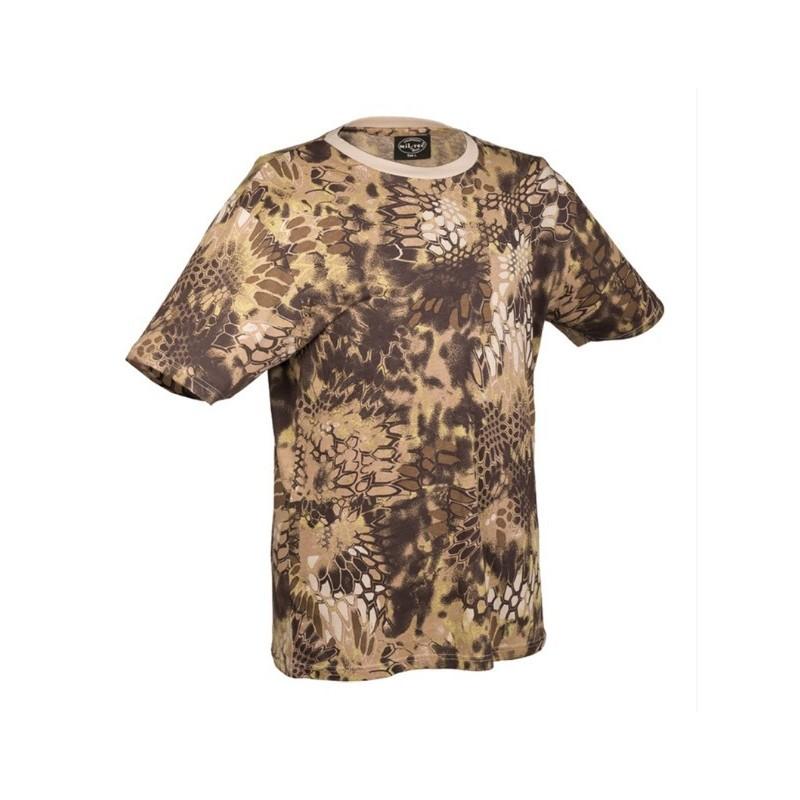 Camo t-shirt, mandra tan