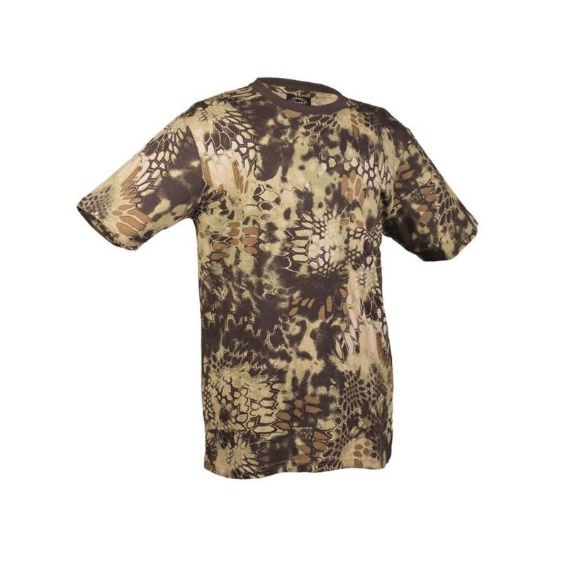 Camo t-shirt, mandra wood