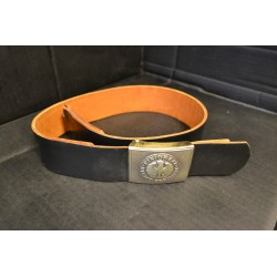 BW leather belt, black, used, ver 2