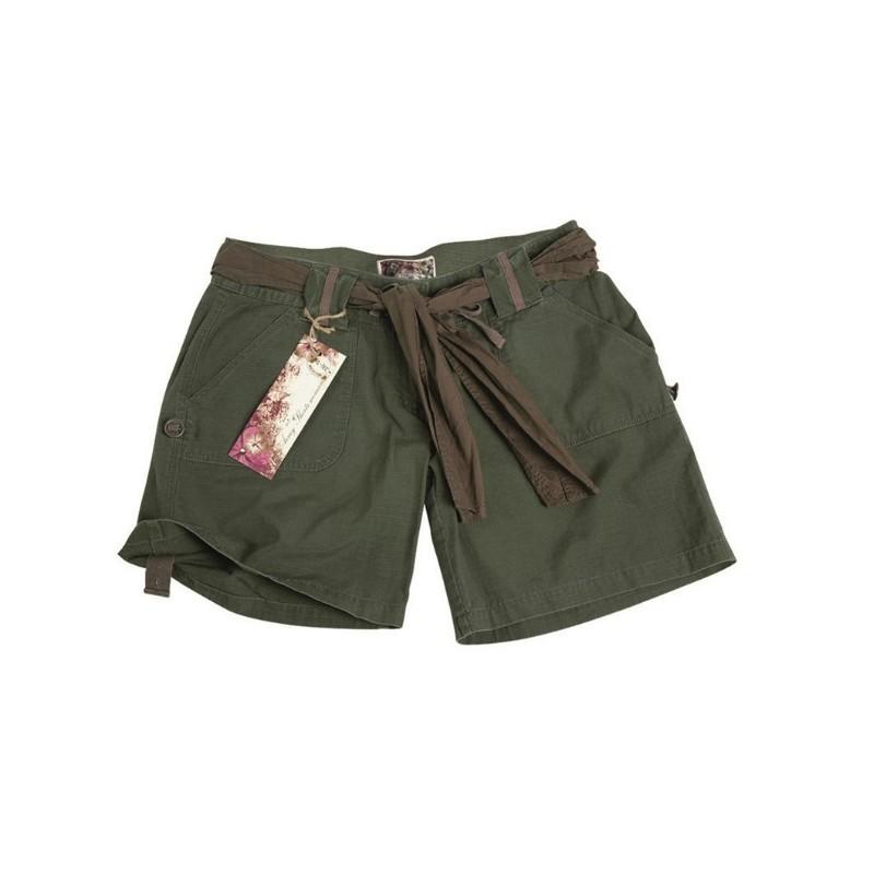 Women shorts Army, od green