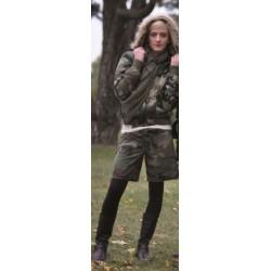 Женщины шорты армии, woodland
