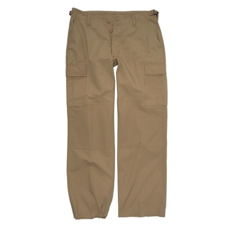Women BDU style field pants, khaki