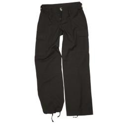 Женщины BDU поле стиль брюки, черный