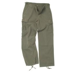 Women BDU style field pants, od green