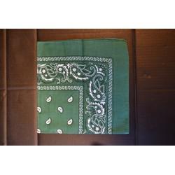 Pearätik Bandana roheline/valge