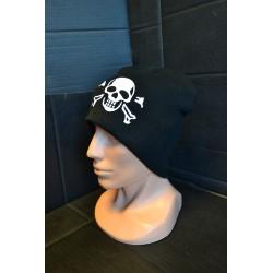 "Knitted Hat, ""BEANIE"", Acryl, Skull"