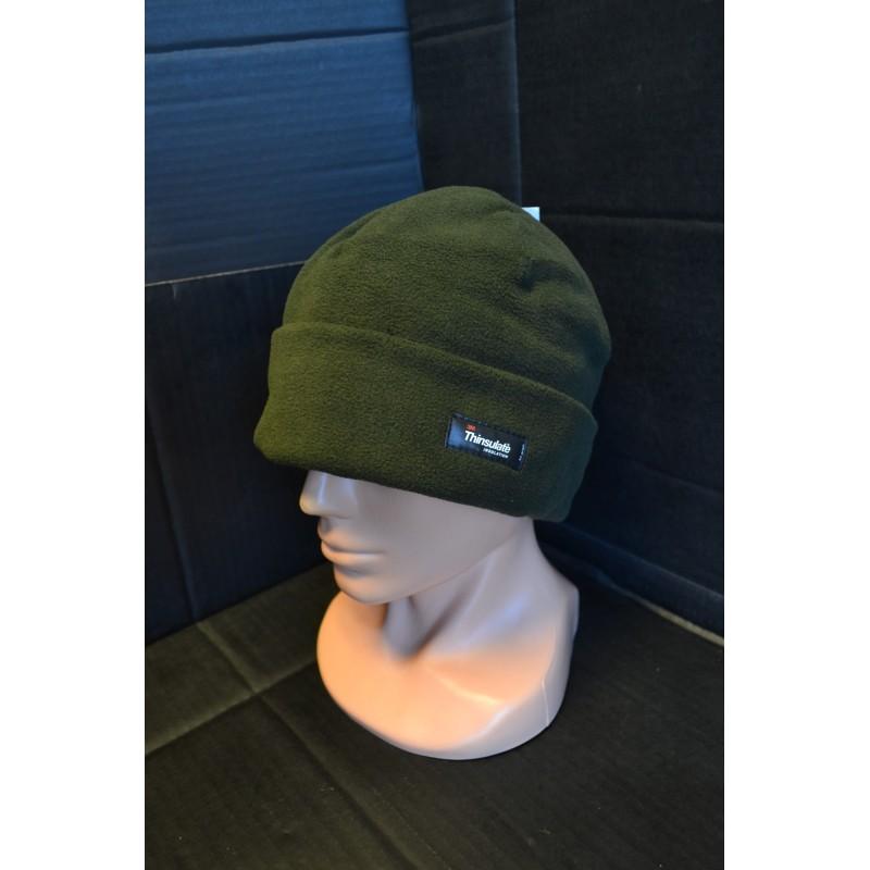 Talvemüts fliisist Thinsulate voodriga, oliivroheline
