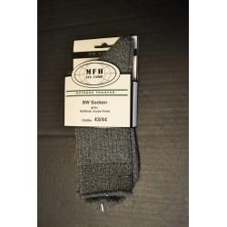 BW армии носки, серые, короткие