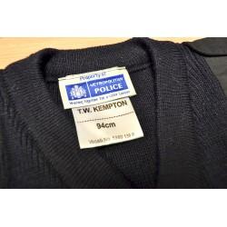 Briti politsei pulloverid v-kaelusega, sinine, uueväärne