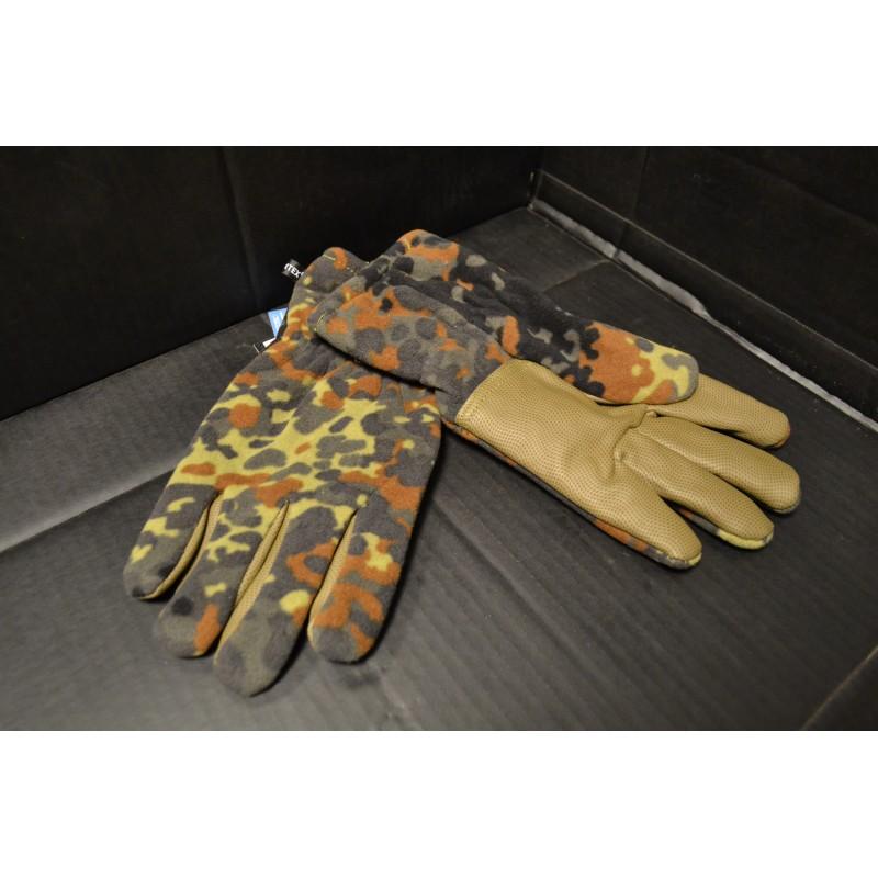 """Fleece Gloves, """"Alpin"""", BW camo"""