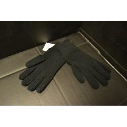 Перчатки трикотажные, черный