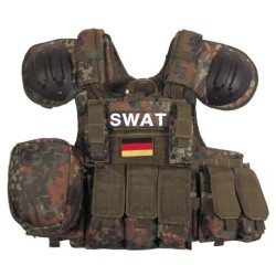 "Vest ""Combat"" Modular, BW camo"