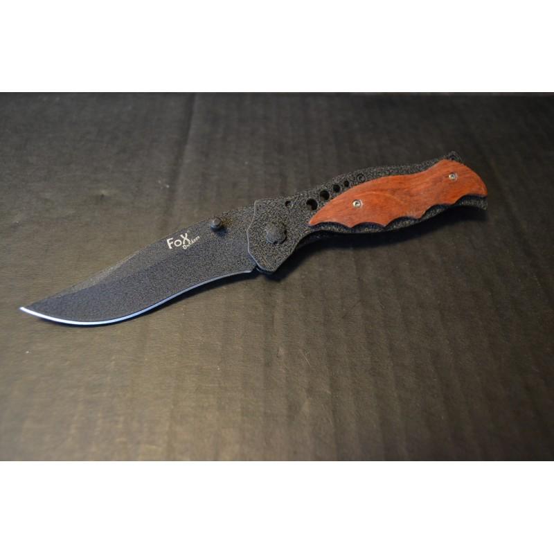 Nuga Jack knife, puidust kaunistused käepidemel