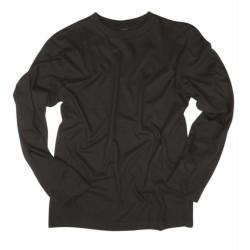 Рубашка с длинными рукавами, черный