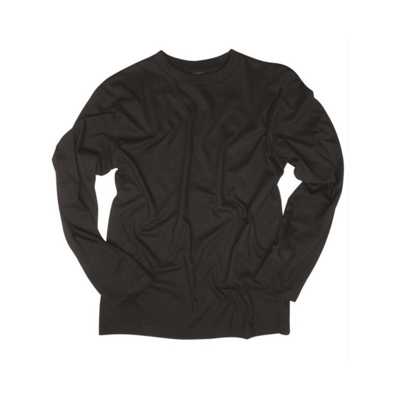 Pikakäiseline särk, must
