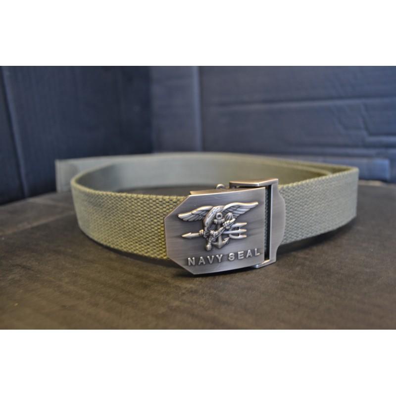 US Navy Seal belt, od green