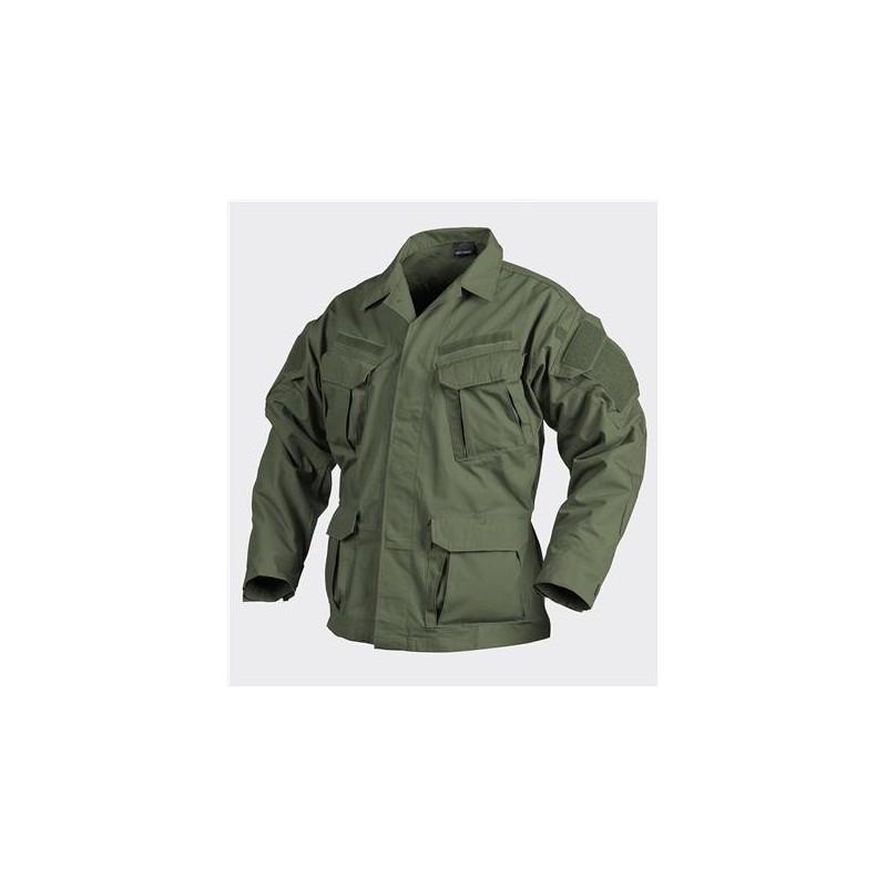 SFU NEXT Shirt - PolyCotton Ripstop - Olive Green