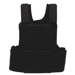 "Vest ""Molle II"", modular, black"