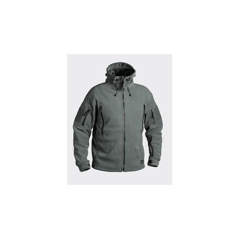 Helikon PATRIOT Jacket - Double Fleece - Foliage Green