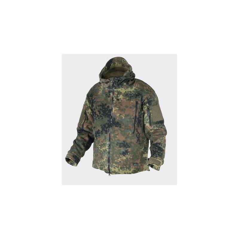 Helikon PATRIOT Jacket - Double Fleece - Flecktarn