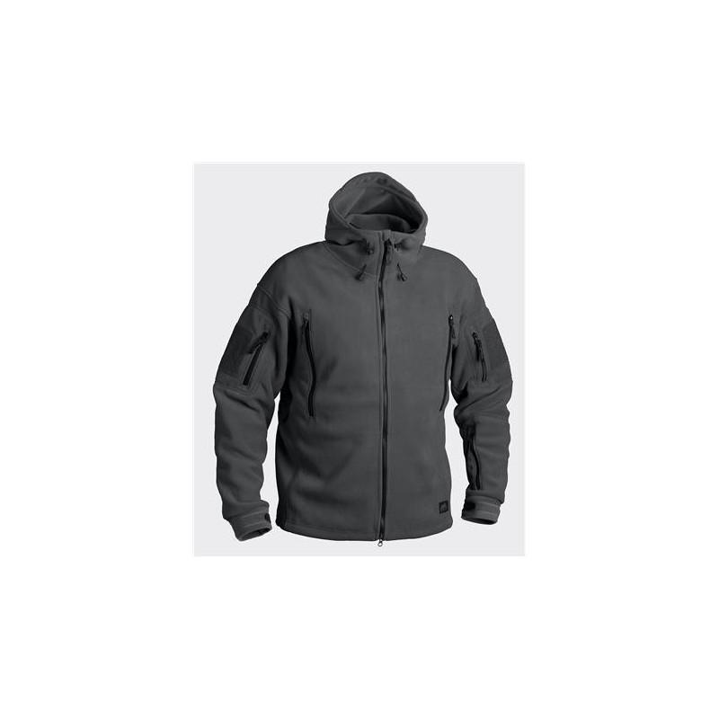 Helikon PATRIOT Jacket - Double Fleece - Shadow Grey