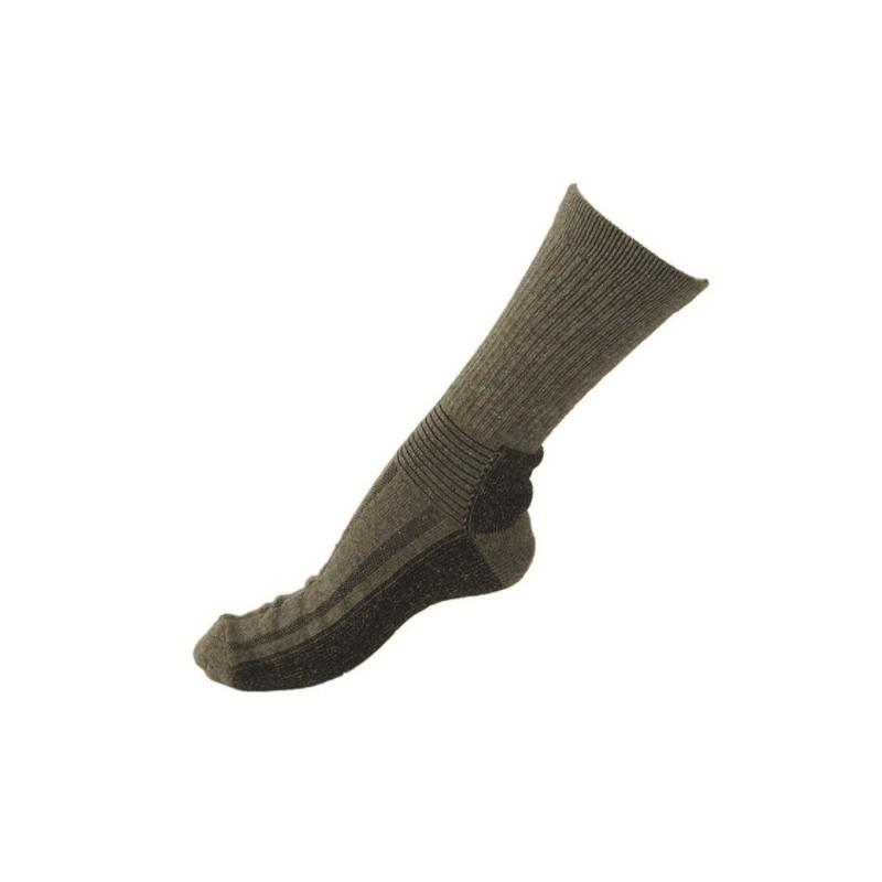 Swedish boot socks, od green
