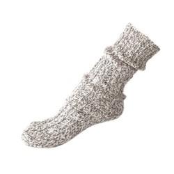 Норвежские шерстяные носки, серый