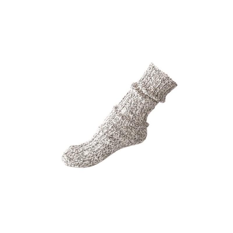 Norwegian wool socks, grey