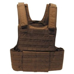 "Vest ""Molle II"", modular, coyote tan"