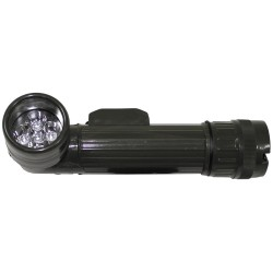 США Angle head LED фонарик, большой, OD зеленый