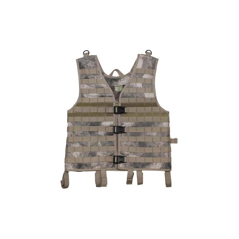"""Vest """"Molle light"""", modular, HDT camo"""