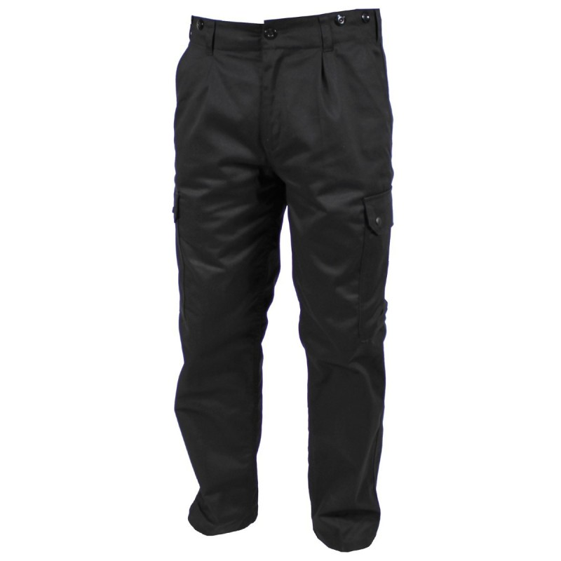 Bundeswehr Field Pants, black. Large sizes