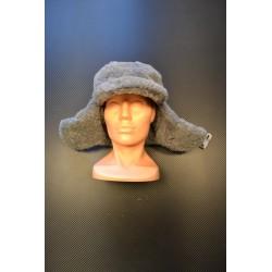 Czechoslovakian winter cap, grey