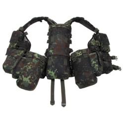 Taktikaline vest 12 taskut, bundeswehri laik