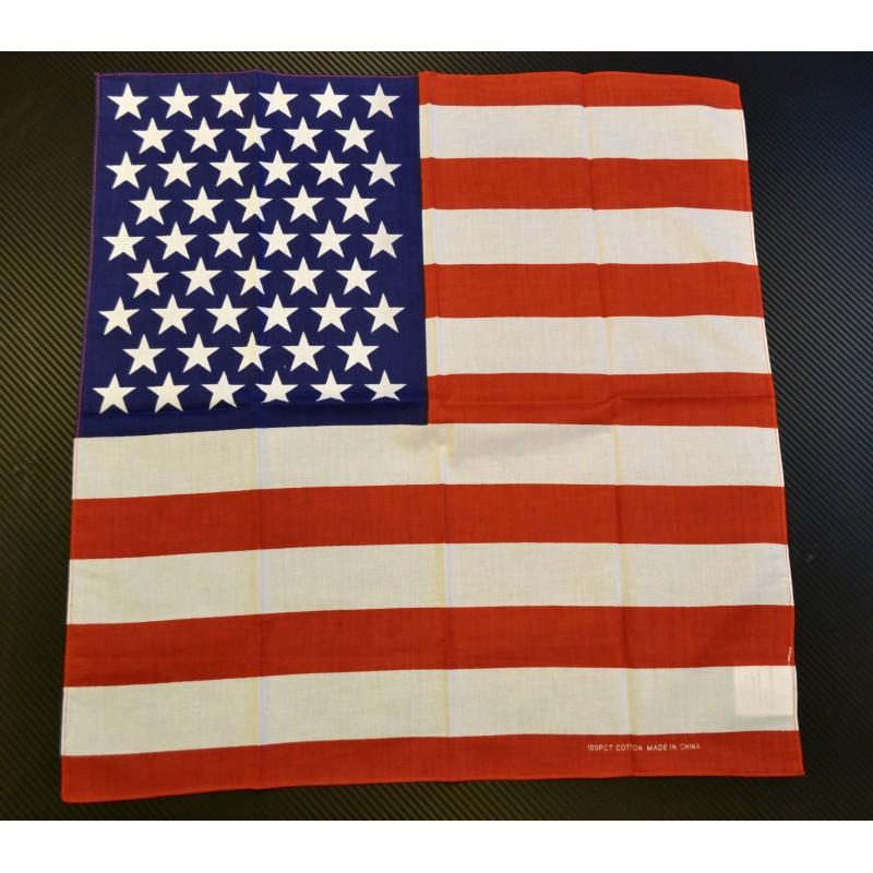 Bandana, US flag