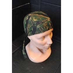 Headwrap, tiger stripe
